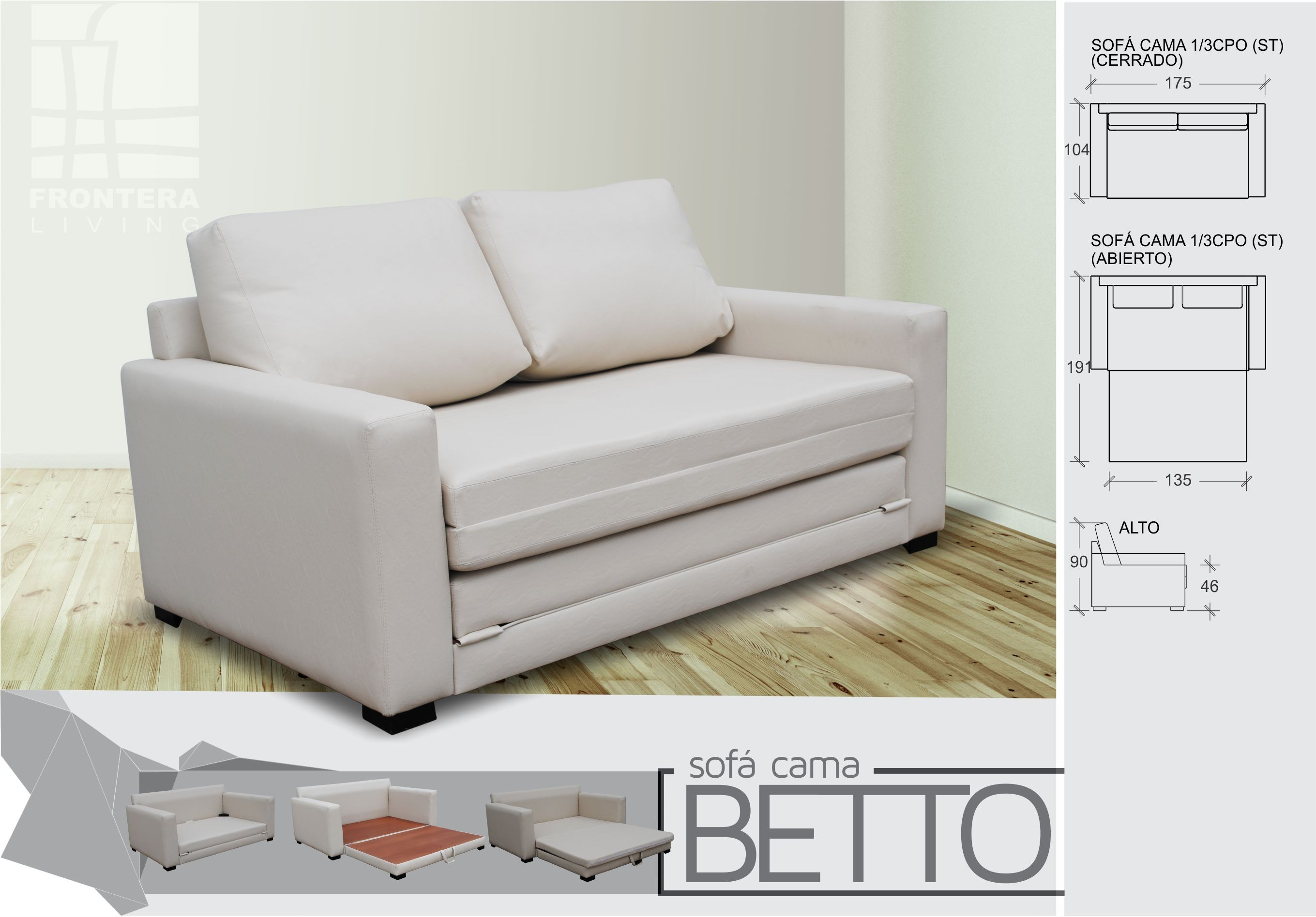 Fabrica de sofa cama 2 plazas en cordoba for Sofa ideal cordoba