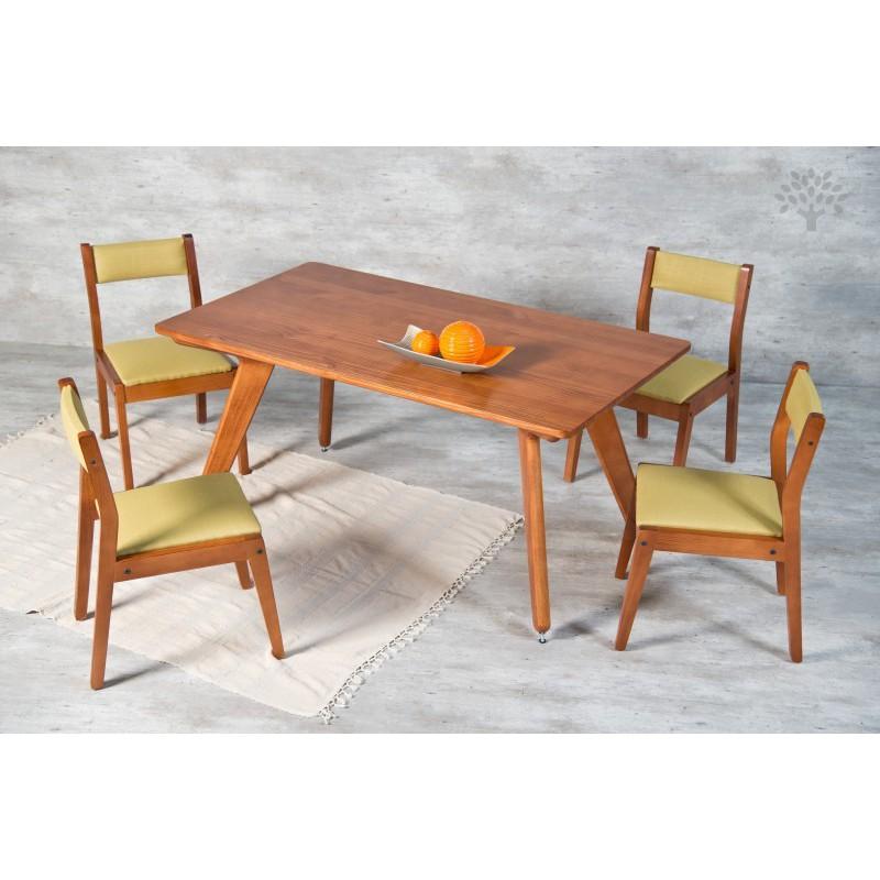 Juego de comedor renata dadone hdh muebles 365 for Juego de comedor oferta
