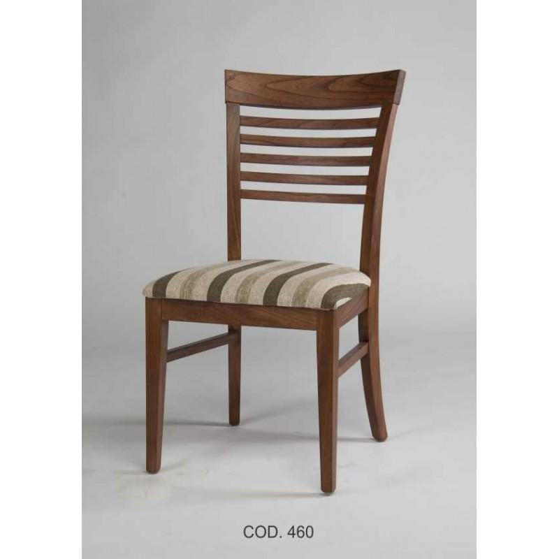 Silla asiento tapizado 460 rayces muebles 365 for Sillas comedor sevilla
