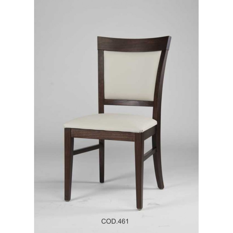 Silla respaldo tapizado 461 rayces muebles 365 for Sillas comedor respaldo bajo