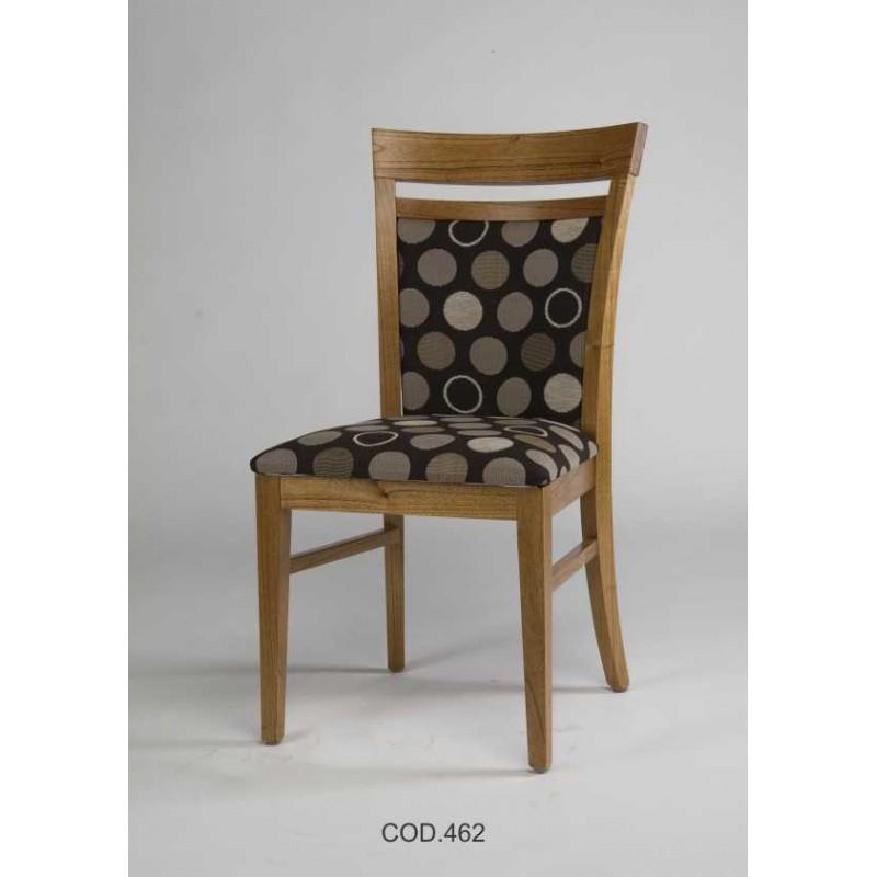 Silla respaldo tapizado 462 rayces muebles 365 for Sillas respaldo tapizado