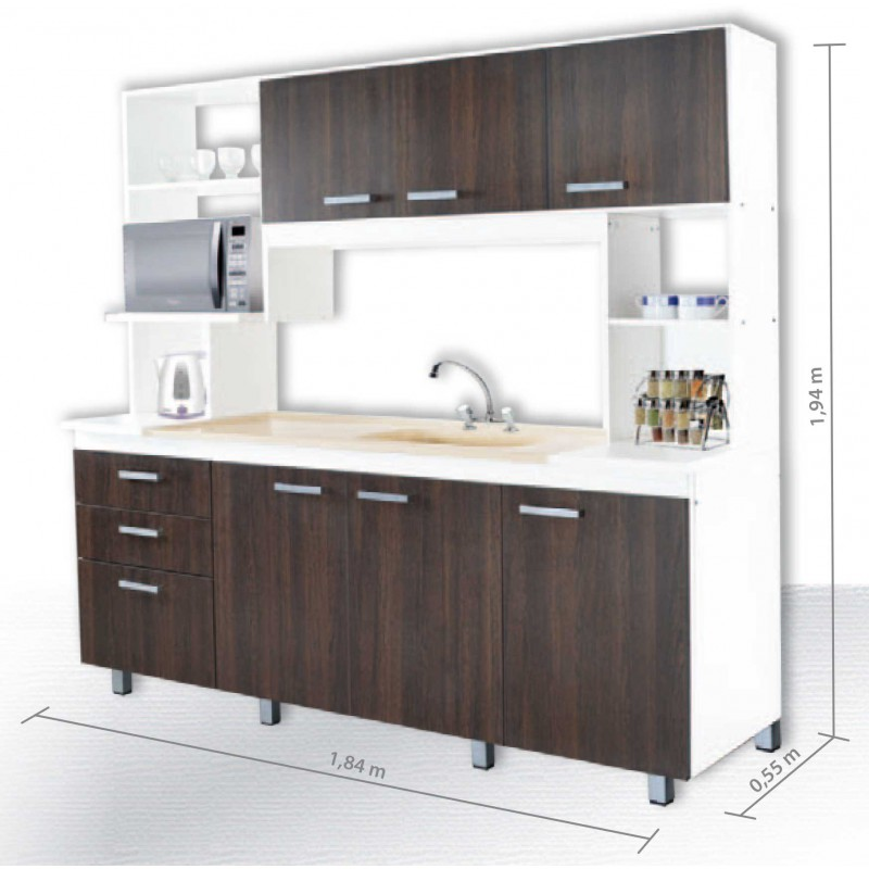 Awesome muebles en kit cocina images casas ideas for Muebles de cocina en kit online