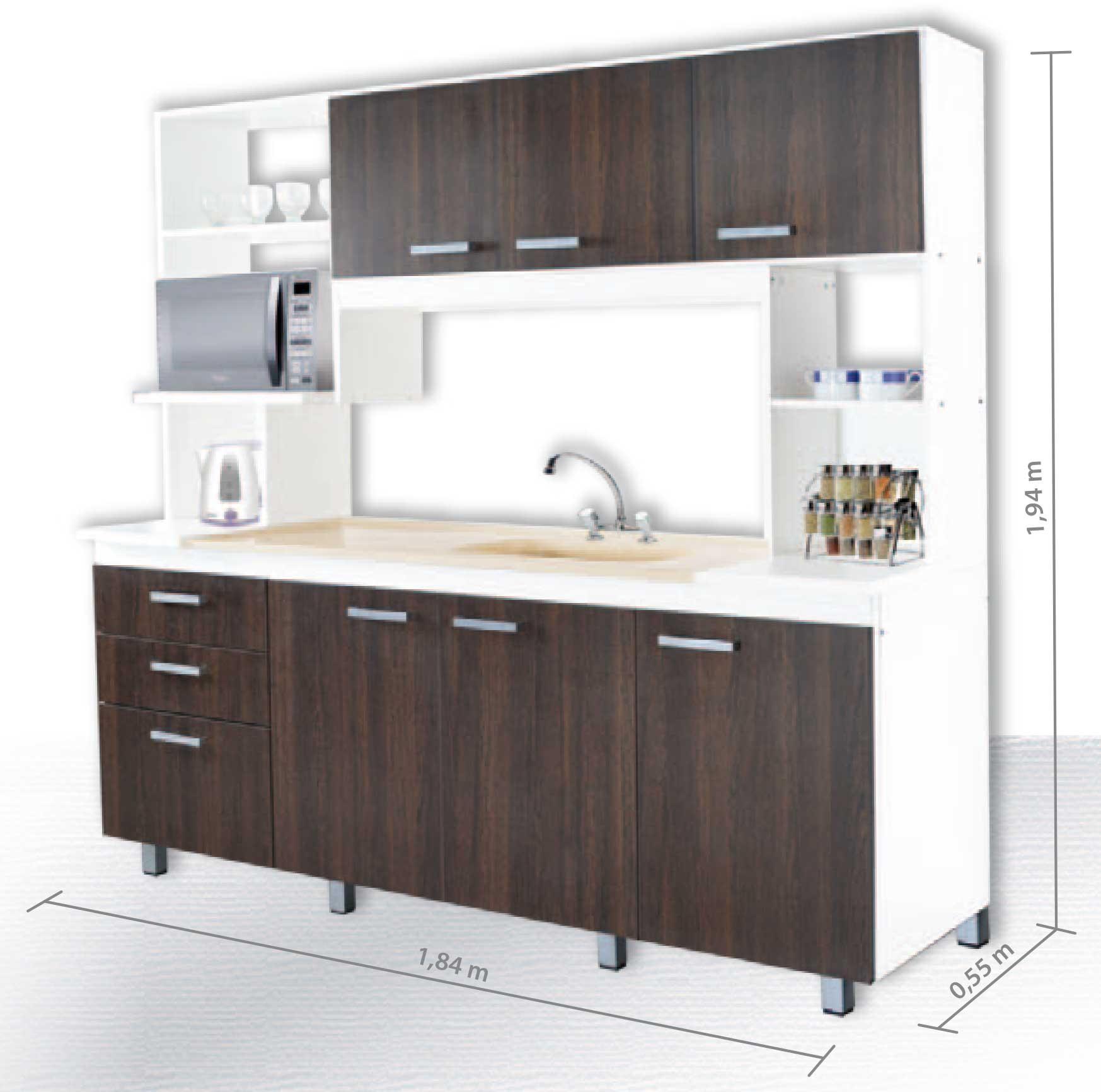 Kit de Cocina - Platinum - Muebles 365