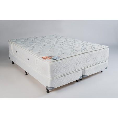 Conjunto Sommier Rubi 1.60m x 2.00m - Deseo Confort