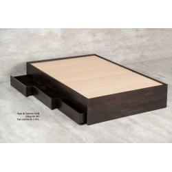 Box de Sommier Barbi - Dadone HDH (Respaldo y Mesas de Luz No Incluidos)