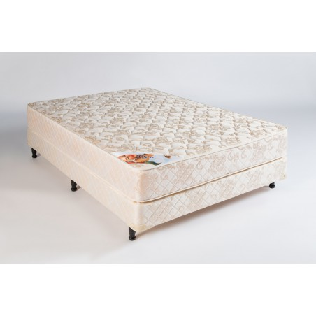 Conjunto Sommier Sueño Dorado 1.40m x 1.90m - Deseo Confort