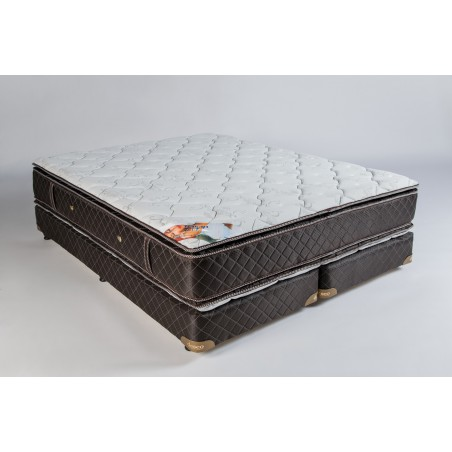 Conjunto Sommier Topacio 1.60m x 2.00m - Deseo Confort