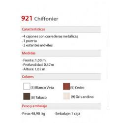 Chiffonier 921 - Platinum