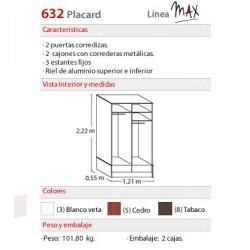 Placard 632 MAX - Platinum