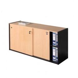 Biblioteca Puertas Corredizas 405 - Platinum