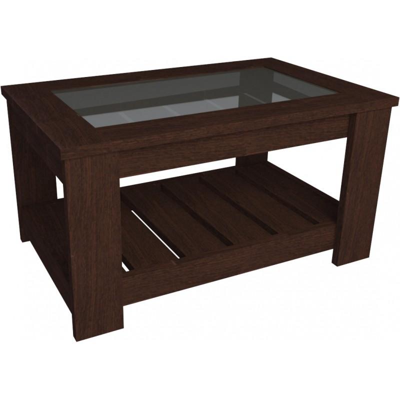 Mesa de living recangular c vidrio 2003 tables muebles 365 - Mesas de vidrio ...