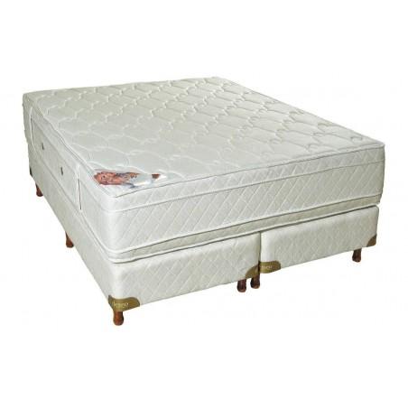 Conjunto Sommier Diamante c/EuroTop 1.60m x 2.00m - Deseo Confort