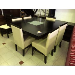 Mesa Euro Base Central 1.40 x 1.40 - Patria Muebles