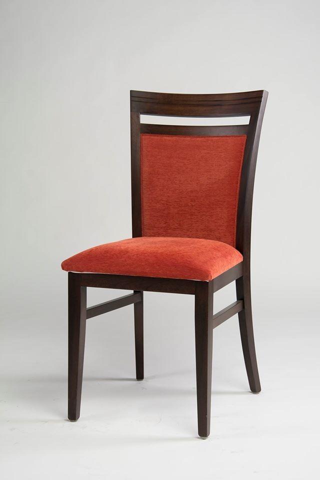 Silla montecatini con asiento y respaldo tapizado   dadone hdh ...