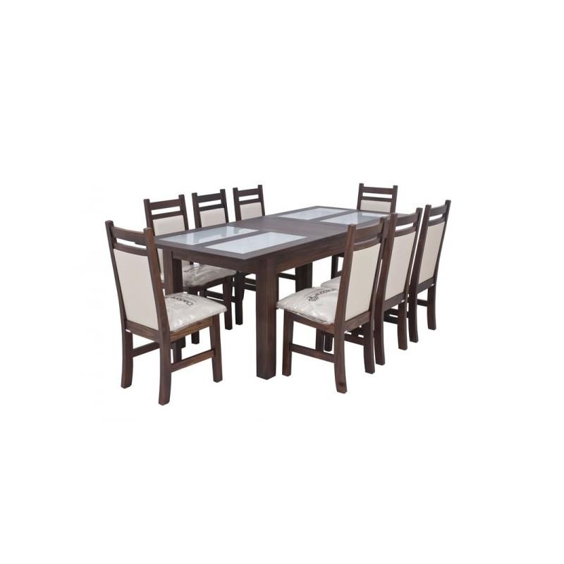 Juego de comedor montecatini extensible x8   dadone hdh   muebles 365