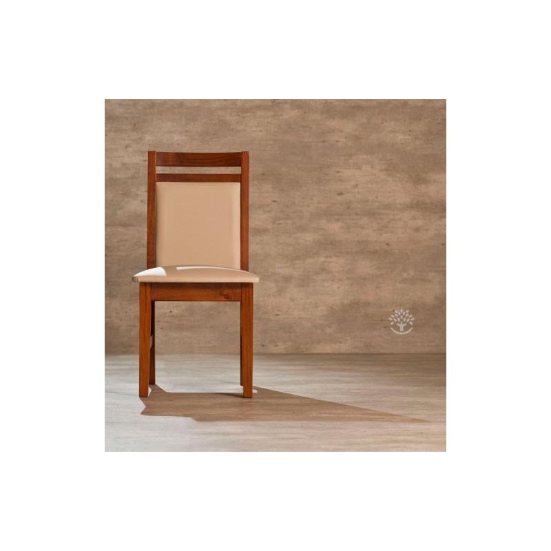 Silla montecatini con respaldo tapizado ancho dadone hdh for Sillas respaldo tapizado